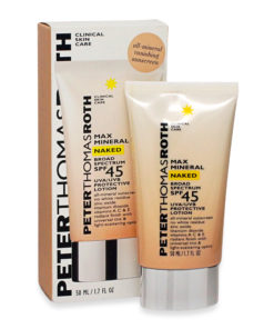 Peter Thomas Roth Max Mineral Naked Broad Spectrum Spf 45 Lotion, 1.7 oz.