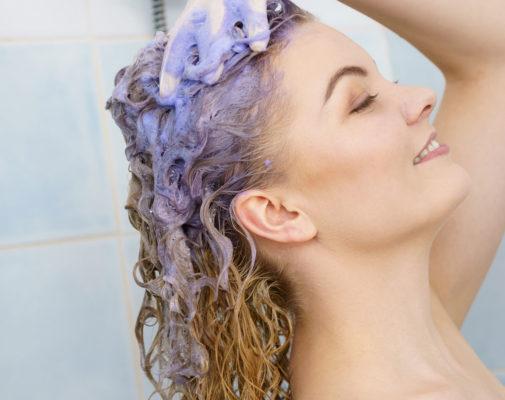How to Use Purple Shampoo image