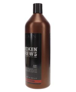 Redken Brews 3-in1 Shampoo, Conditioner and Body Wash 33.8 oz