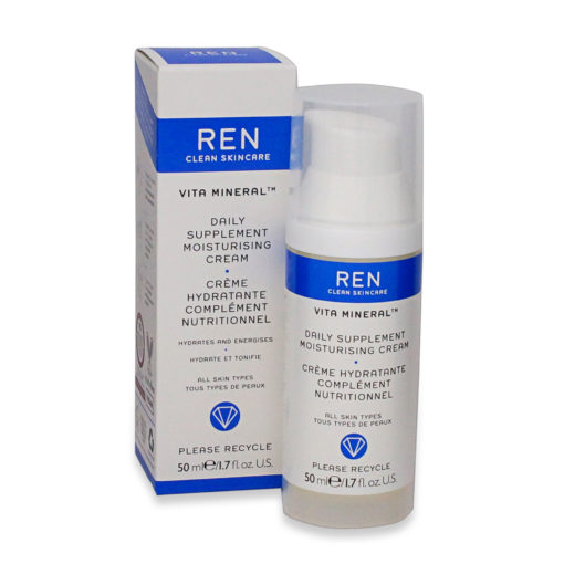 REN Skincare Vita Mineral Daily Supplement Moisturising Cream-1.7 Oz