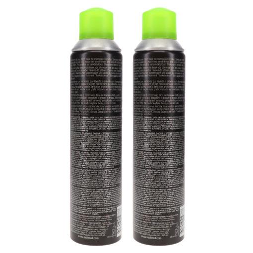 TIGI Bed Head Rockaholic Dirty Secret Dry Shampoo 6.3 Oz - 2 Pack