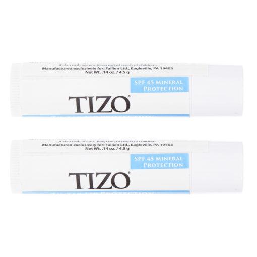 TiZO Solar Protection Formula LIPTECT SPF 45  4.5g - 2 Pack