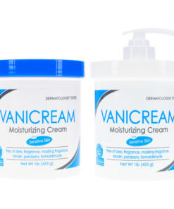 Vanicream Moisturizing Skin Cream with Pump Dispenser Plus Jar Combo Pack