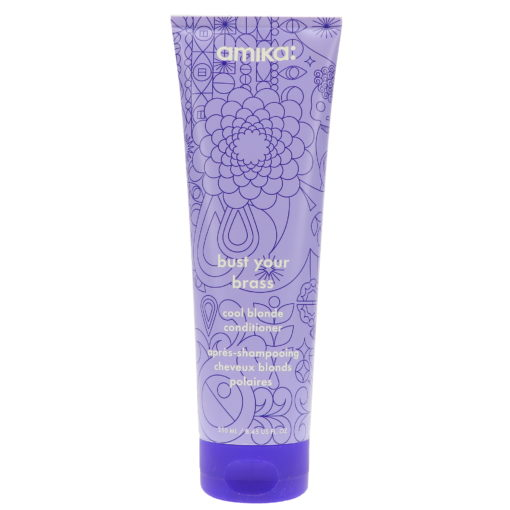 Amika Bust Your Brass Cool Blonde Conditioner, 8.45 oz.