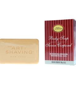The Art of Shaving Body Soap Sandalwood, 7 oz.