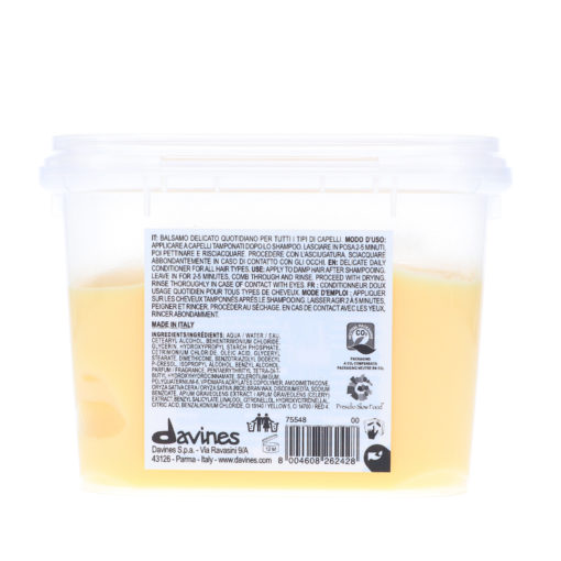 Davines DEDE Delicate Daily Conditioner 8.93 oz.