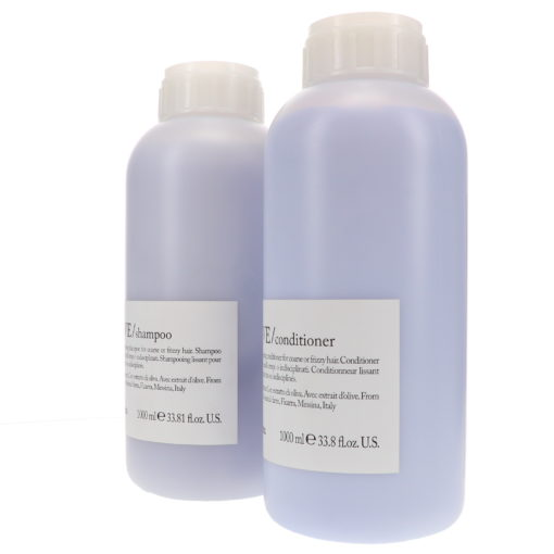 Davines LOVE Smoothing Shampoo 33.8 oz & LOVE Smoothing Conditioner 33.8 oz Combo Pack