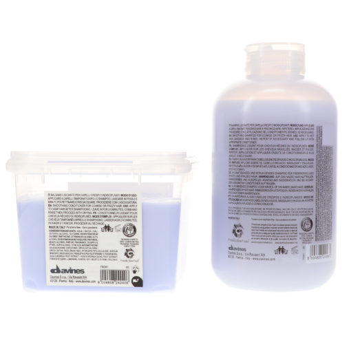 Davines LOVE Smoothing Shampoo 8.45 oz & LOVE Smoothing Conditioner 8.45 oz Combo Pack