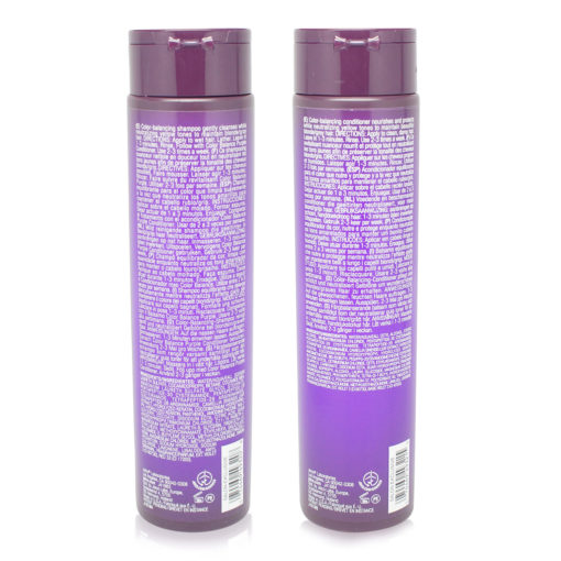 Joico Color Balance Purple Shampoo and Conditioner 10.1 Ozs