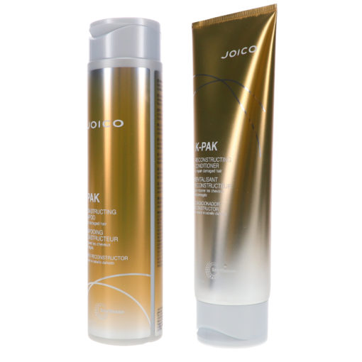 Joico K-PAK Shampoo to Repair Damage 10.1 oz & Conditioner to Repair Damage 8.5 oz Combo Pack