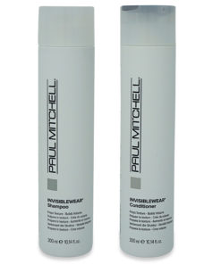Paul Mitchell Invisiblewear Shampoo 10.14 oz and Invisiblewear Conditioner 10.14 oz Combo Pack