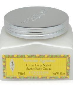 L'Occitane Citrus Verbena Sorbet Body Cream-250ml