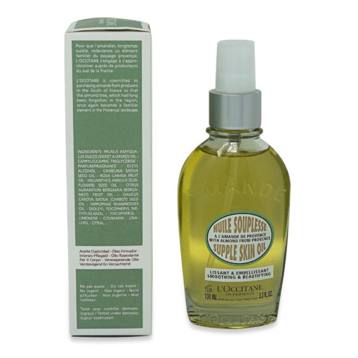 L'Occitane Almond Supple Skin Oil-100ml