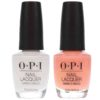 OPI Coney Island Cotton Candy 0.5 oz. and OPI Alpine Snow 0.5 oz Nude French Combo Set