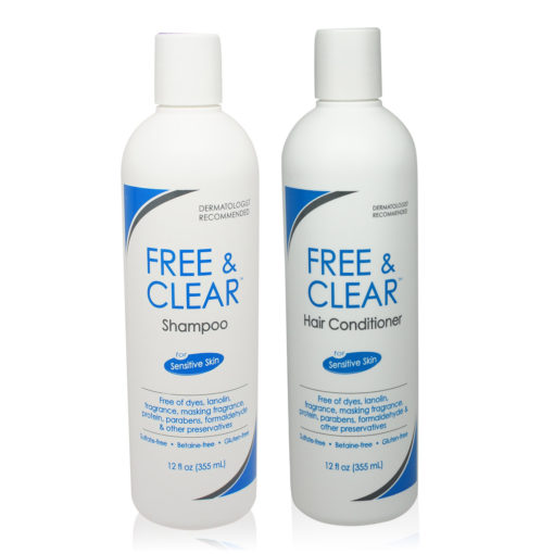 Free & Clear Shampoo and Conditioner COMBO 12 Oz