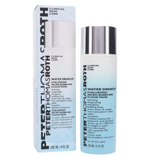 Peter Thomas Roth Water Drench Hyaluronic Micro Bubbling Cloud Mask 4 oz