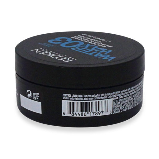 Redken 03 Water Wax Shine Defining Pomade 1.7 Oz