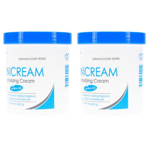 Vanicream Moisturizing Skin Cream 16 Oz (2 Pack)