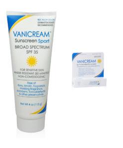 Vanicream Sunscreen - SPF 35 4Oz- and Vanicream Lip Pretectant SPF 30 .35Oz combo pack