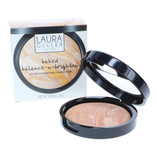 Laura Geller Baked Balance-N-Brighten Color Correcting Foundation Fair 0.16 oz