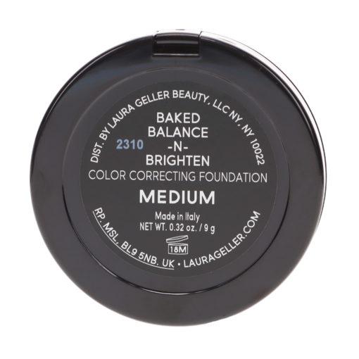 Laura Geller Baked Balance-N-Brighten Color Correcting Foundation Medium 0.16 oz