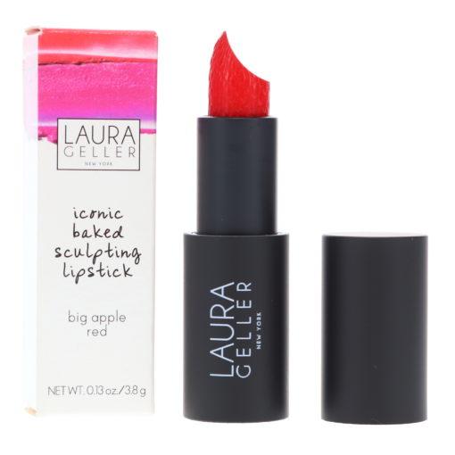 Laura Geller Iconic Baked Sculpting Lipstick Big Apple Red 0.13 oz