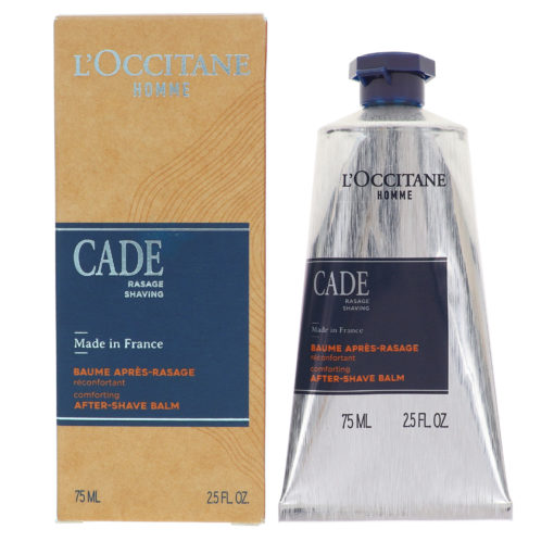 L'Occitane Soothing Cade After Shave Balm 2.5 oz