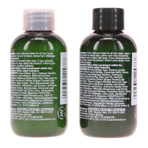 Paul Mitchell Tea Tree Special Shampoo and Conditioner 2.5 oz. Combo Pack