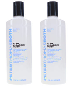 Peter Thomas Roth Acne Clearing Wash 8.5 oz 2 Pack