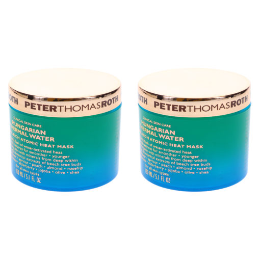 Peter Thomas Roth Hungarian Thermal Water Mineral Rich Atomic Heat Mask 5.1 oz 2 Pack