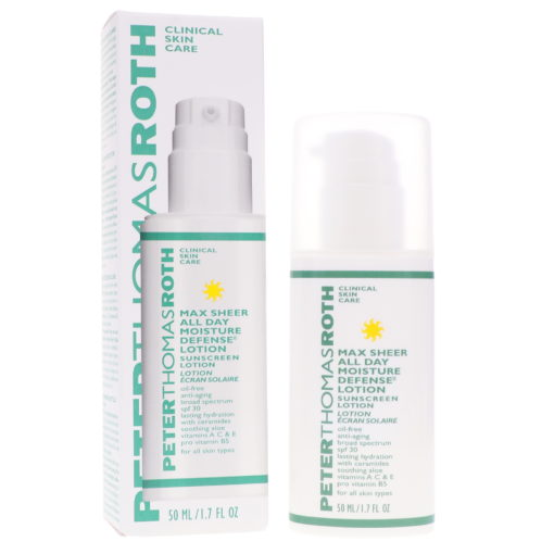 Peter Thomas Roth Max Sheer All Day Moisture SPF 30 Defense Lotion With 1.7 oz.