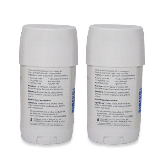 PSI Vanicream Deodorant 2 oz- 2 Pack