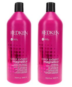 Redken Color Extend Magnetics Shampoo 33.8 oz & Color Extend Magnetics Conditioner 33.8 oz Combo Pack