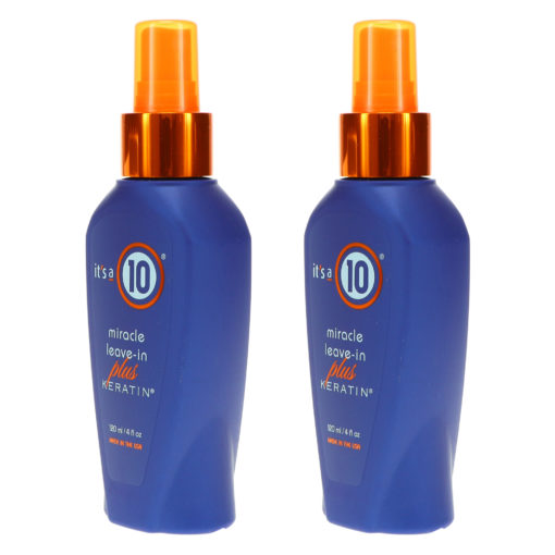 It's a 10 Miracle Leave-In Plus Keratin 4 oz 2 Pack