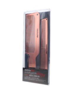 BaBylissPRO ROSEFX Metal Comb 2 pk