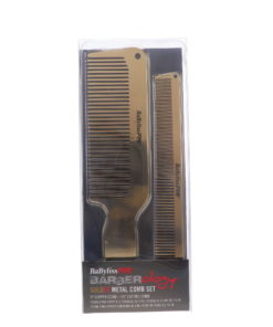BaBylissPRO GOLDFX Metal Comb 2 pk