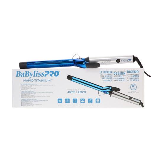 "BaBylissPRO Nano Titanium 1"" Extended Barrel Curling Iron"