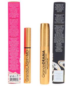 GrandeLash MD Serum Lash Enhancing 0.07 oz & GrandeDrama Thickening Mascara 0.3 oz Combo Pack
