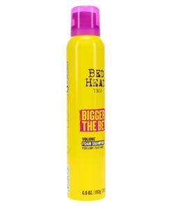 TIGI Bed Head Bigger The Better Volume Foam Shampoo 6.8 oz