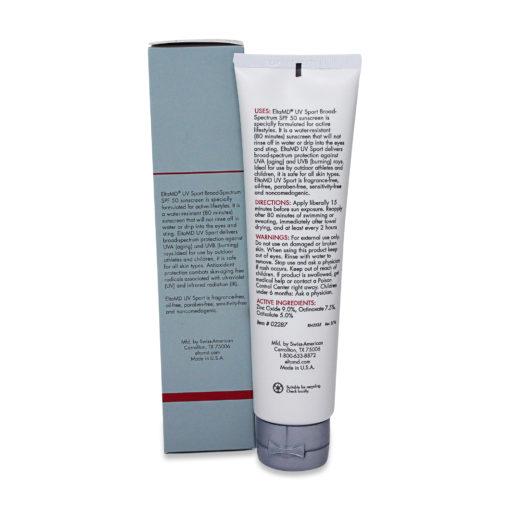 Elta MD UV Sport SPF 50 Broad Spectrum Water Resistant Sunscreen 3 oz
