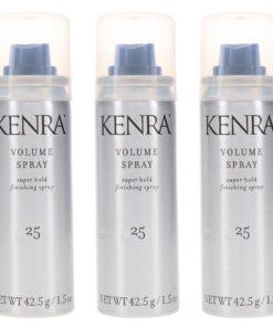 Kenra Volume Spray Hair Spray #25 1.5 oz 3 Pack