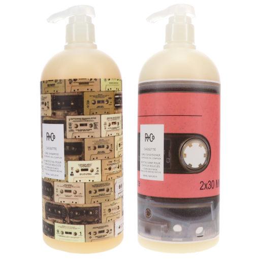 R+CO Cassette Curl Shampoo 33.8 oz & Cassette Curl Conditioner 33.8 oz Combo Pack