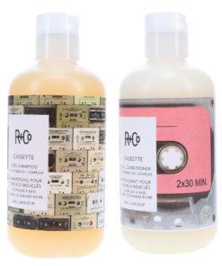 R+CO Cassette Curl Shampoo 8.5 oz & Cassette Curl Conditioner 8.5 oz Combo Pack