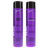 Sexy Hair Smooth Sexy Hair Sulfate Free Smoothing Anti Frizz Shampoo 10.1 oz & Smooth Sulfate Free Smoothing Anti Frizz Conditioner 10.1 oz Combo Pack