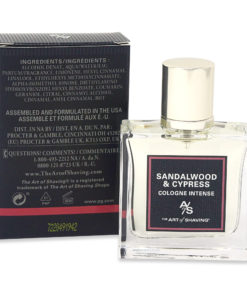 The Art of Shaving Cologne Intense Sandalwood & Cypress 1 oz