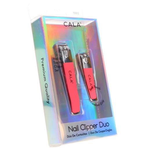 CALA Nail Clipper Duo Coral