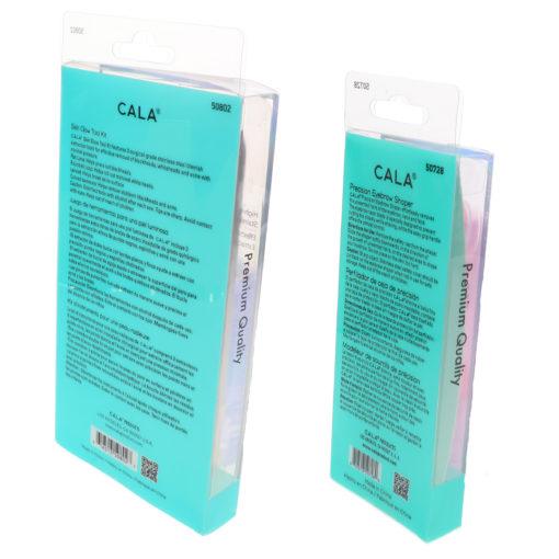 CALA Precision Eyebrow Shaper 3 pc & Skin Glow Tool Kit 3 ct Combo Pack