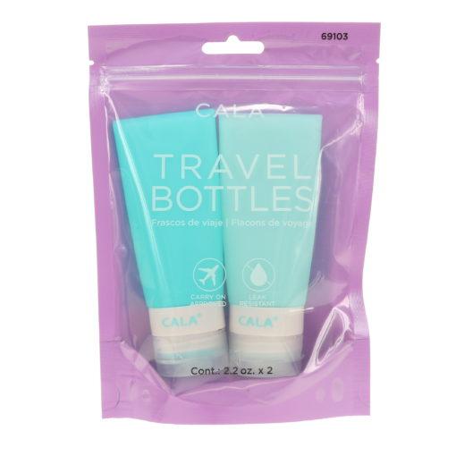 CALA Silicone Travel Bottles Mint