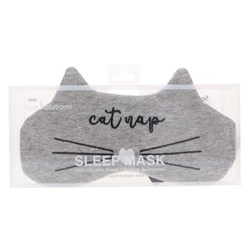 CALA Sleep Mask Grey Cat Nap