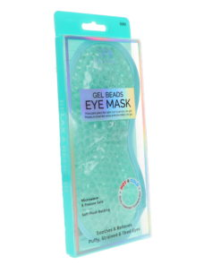CALA Spa Solutions Gel Beads Eye Mask Aqua